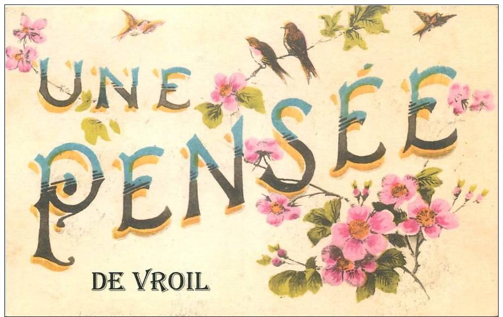 """**CPA FRANCE 51 """"Vroil"""" - France"""