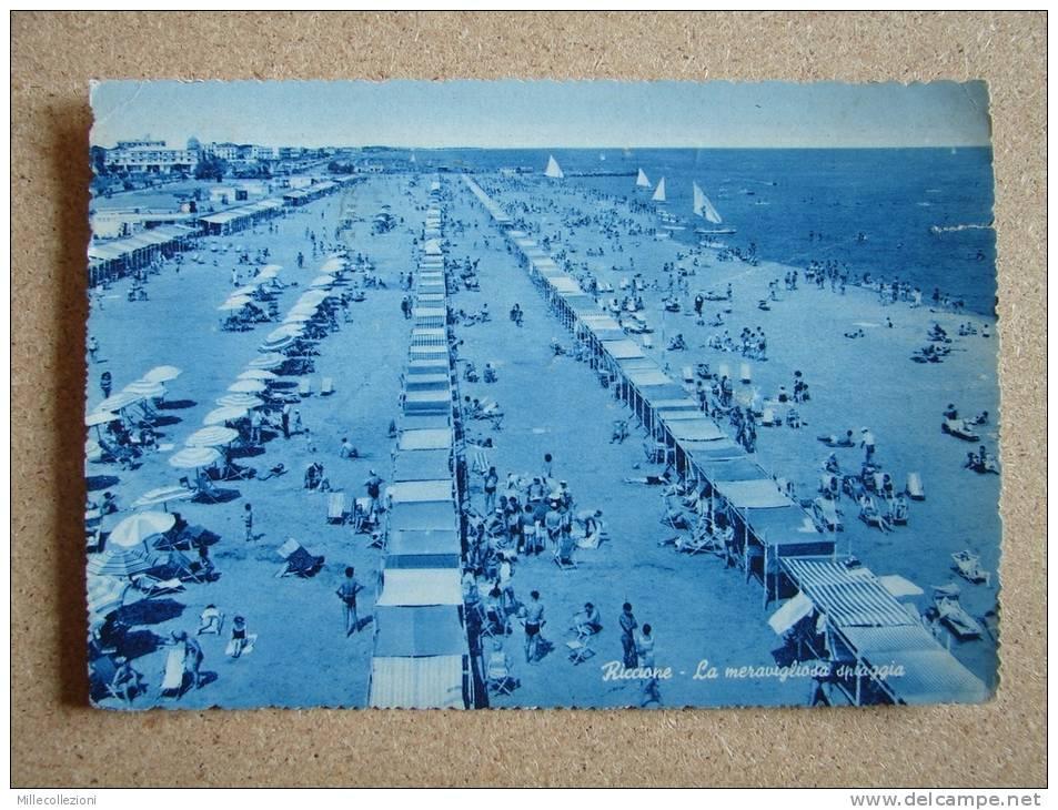 Rn1113)  Riccione - Spiaggia - Rimini