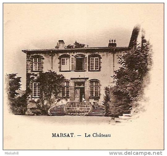 MARSAT-LE CHATEAU - Riom