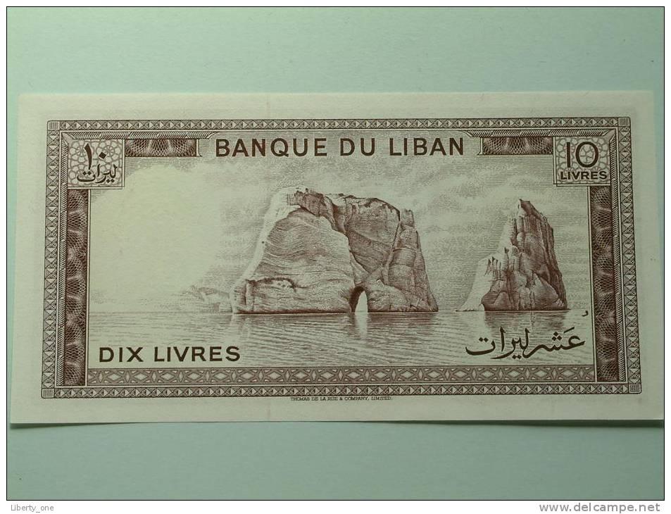DIX LIVRES / UNC ( For Grade, Please See Photo ) ! - Liban