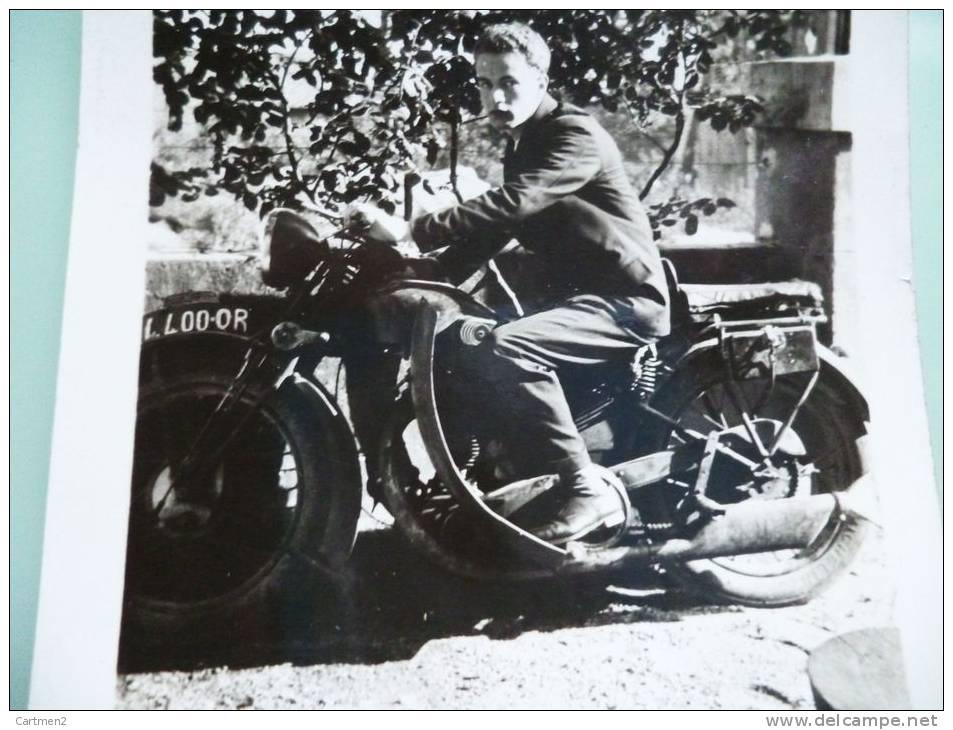 PHOTOGRAPHIE : MOTO MOTARD - Non Classés