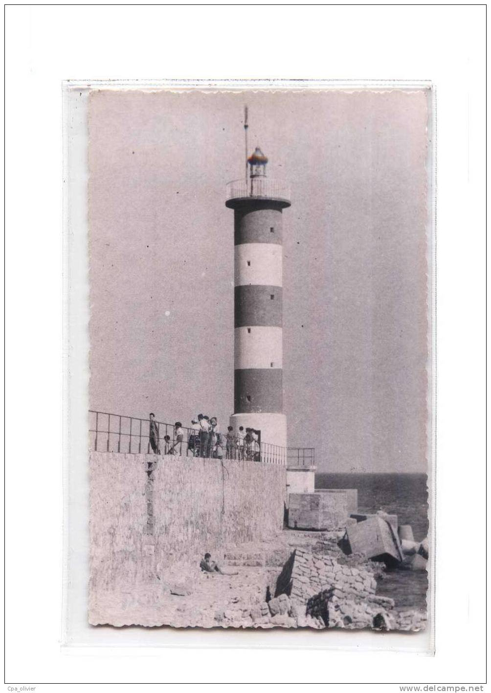 11 PORT LA NOUVELLE Phare, Style Carte Photo, Ed ?, CPSM 9x14, 195? - Port La Nouvelle