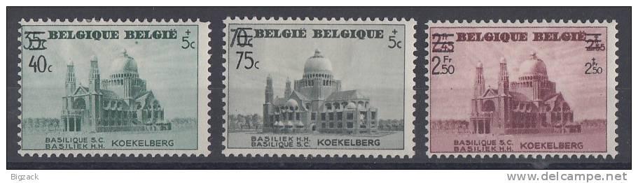 Belgien Minr.486-488 Mit Falz - Belgien