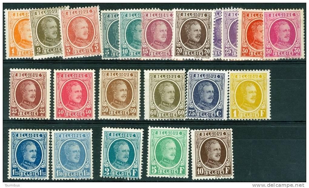 N° 190-210 X - 1922 - Nuovi