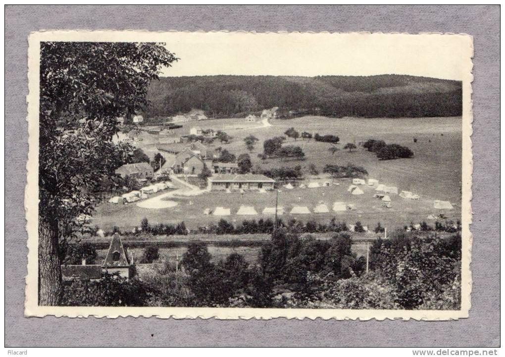 29083     Belgio,  Rochefort,  Panorama  Du  Fond  Des  Vaux  Et  Le  Terrain  De  Camping,  NV - Rochefort