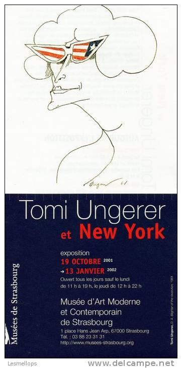 Papier Illustré Par Tomi Ungerer - Vieux Papiers