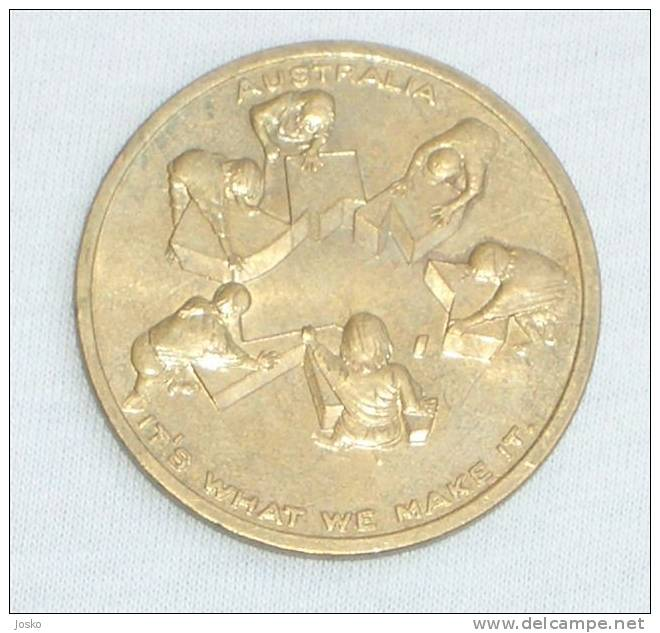 AUSTRALIA - One Hundred Years Of Federation ( Australia - Beautifull Large Medal Or Token ) - Unclassified