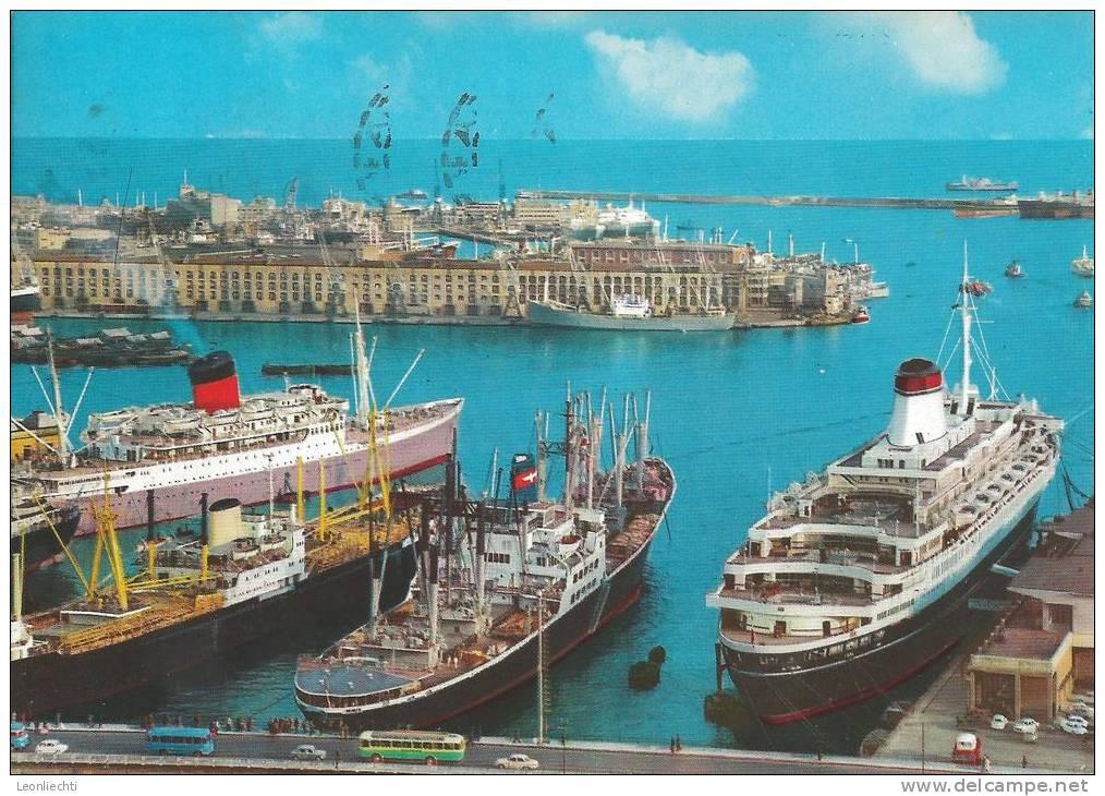 GENOVA Particolare Del Porto,   Marken Z.It. 10961904.  St. 9.IX.1966(pk A1) - Genova (Genoa)