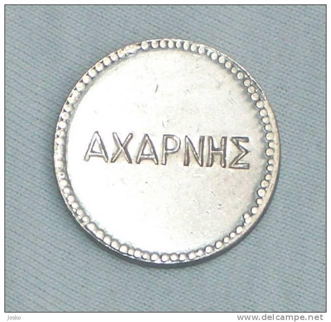 GREECE TOKEN *  Jeton Gettone - Tokens & Medals