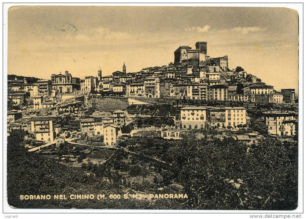 SORIANO NEL CIMINO (VITERBO) PANORAMA - Viterbo
