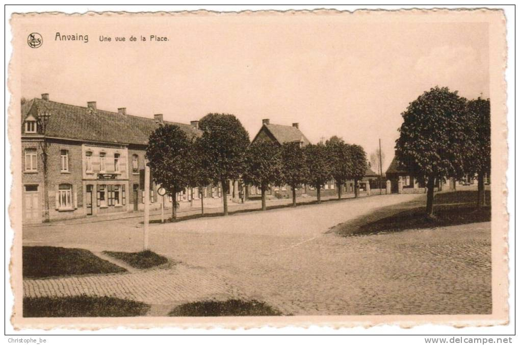 Anvaing, Une Vue De La Place (pk5187) - Frasnes-lez-Anvaing