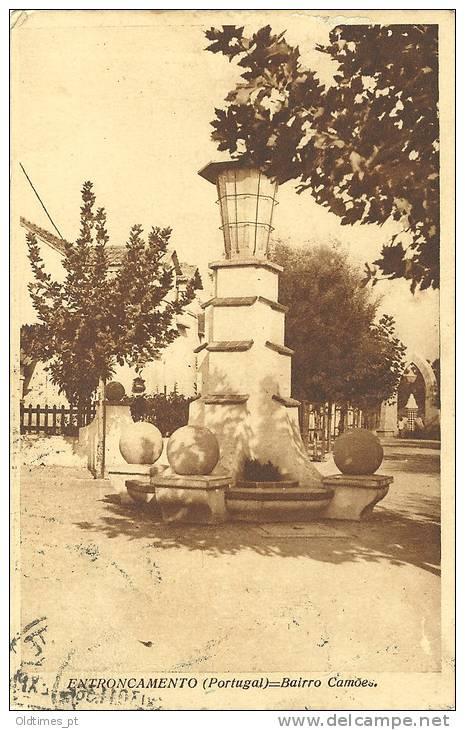 PORTUGAL - ENTRONCAMENTO - BAIRRO CAMOES - 1930 PC - Santarem