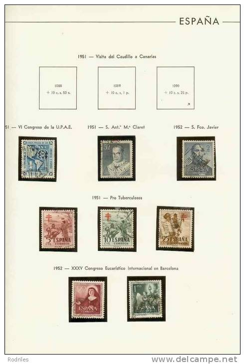 RESTO DE COLECCIÓN DE ESPAÑA - Collections (with Albums)
