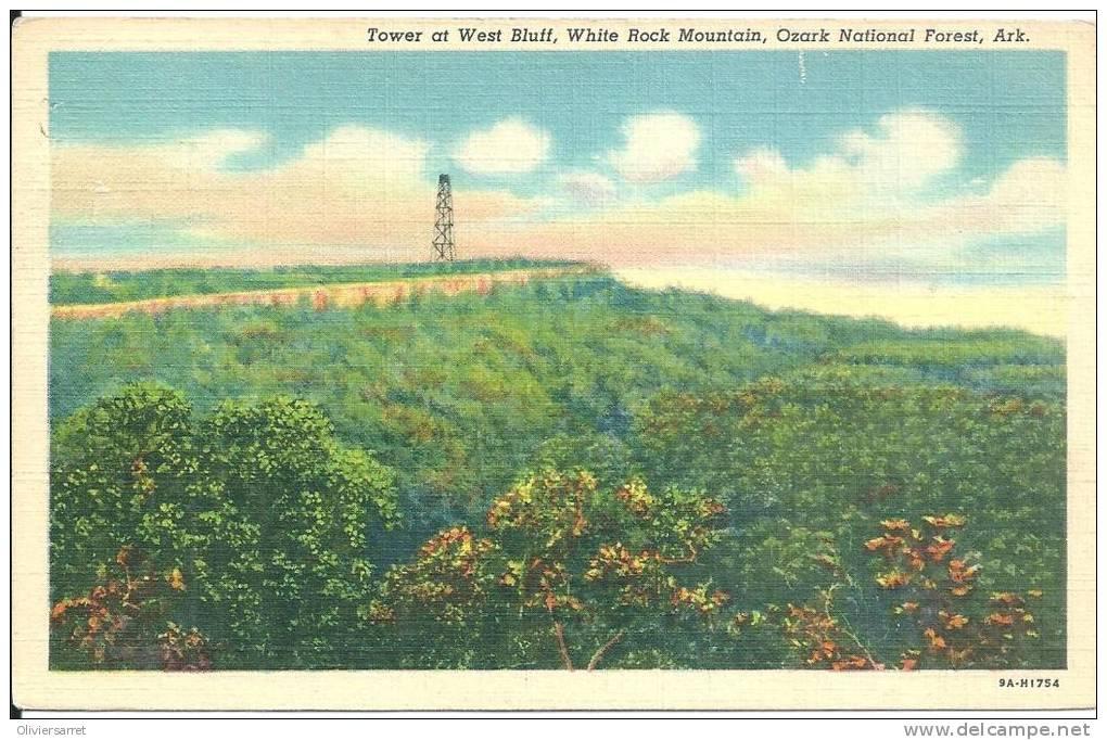 états Unis  Ozark National Forest Ark  Tower At West Bluff - Etats-Unis