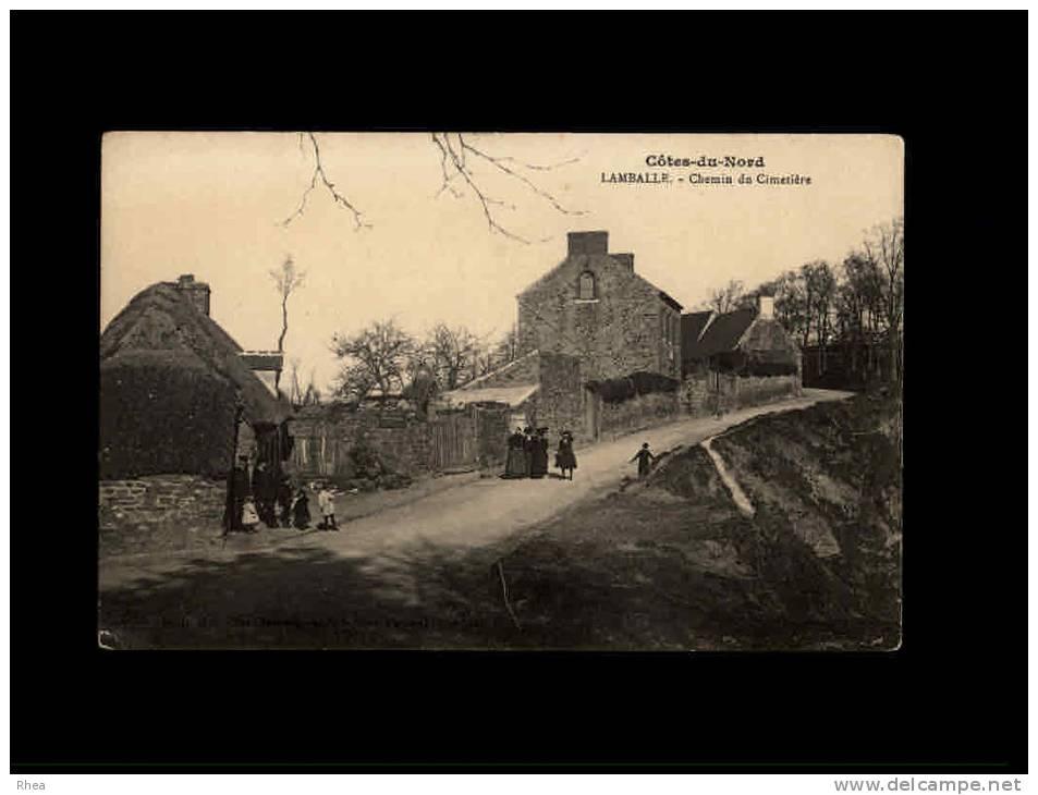 22 - LAMBALLE - Chemin Du Cimetière - 1-735 - Lamballe