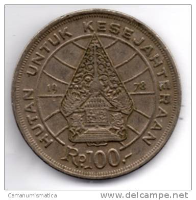 INDONESIA 100 RP 1978 - Indonésie
