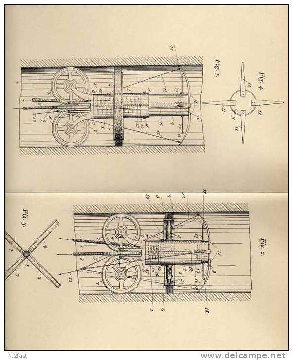 Original Patentschrift - Reinigungsapparat Für Schornstein , 1906 , H. Birnbach In Wien , Schornsteinfeger , Esse !!! - Maschinen