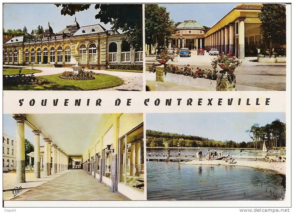 CONTREXEVILLE (Vosges) Le Casino - L´Etablissement Hydrominéral - Les Galeries - Le Lac - France
