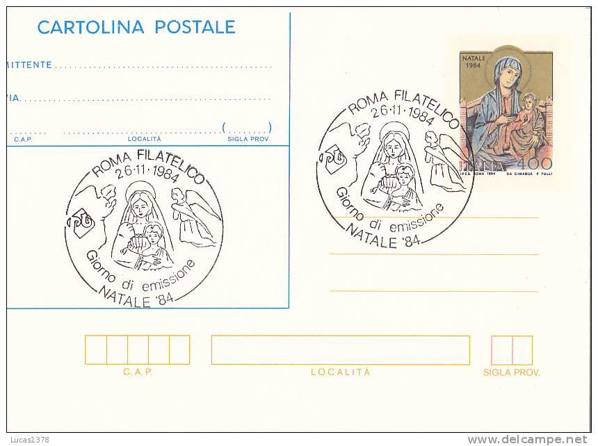ROMA FILATELICO 1984 - Roma