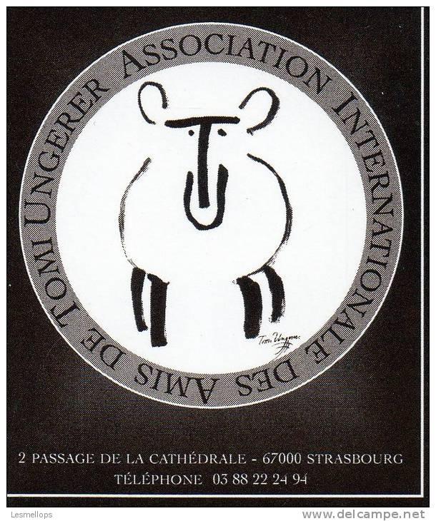 Document Cartonné Illustré Par Tomi Ungerer - AIATU - Vecchi Documenti