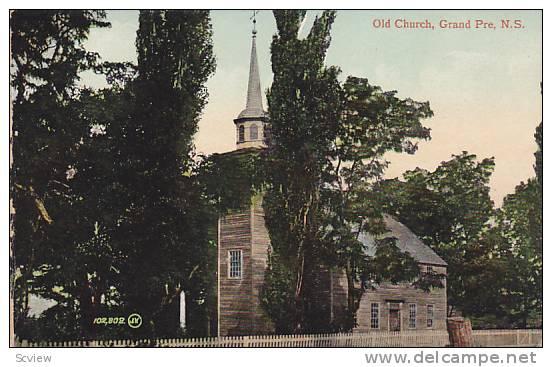 Old Church, Grand Pre, Nova Scotia, Canada, 00-10s - Nouvelle-Écosse