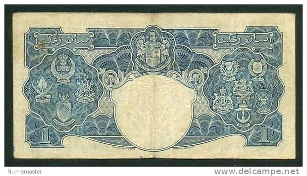 MALAYA , 1 DOLLAR 1.7.1941. P-11 - Andere