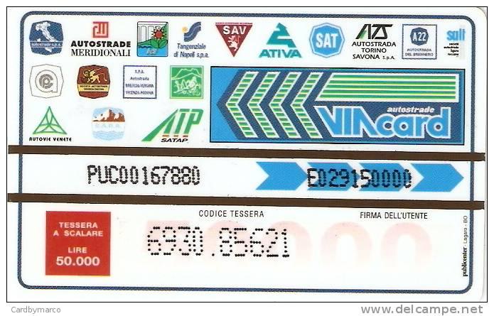 *ITALIA: VIACARD - AUTOSTRADE - INTERNET HOME PAGE 1998 (L. 50000)* - Usata - Non Classificati
