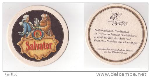 Paulaner Salvator , Frühlingslüfterl - Starkbierzeit - Sotto-boccale