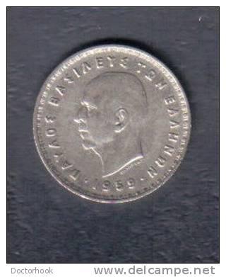 GREECE    10 DRACHMAS  1959  (KM # 84) - Griechenland