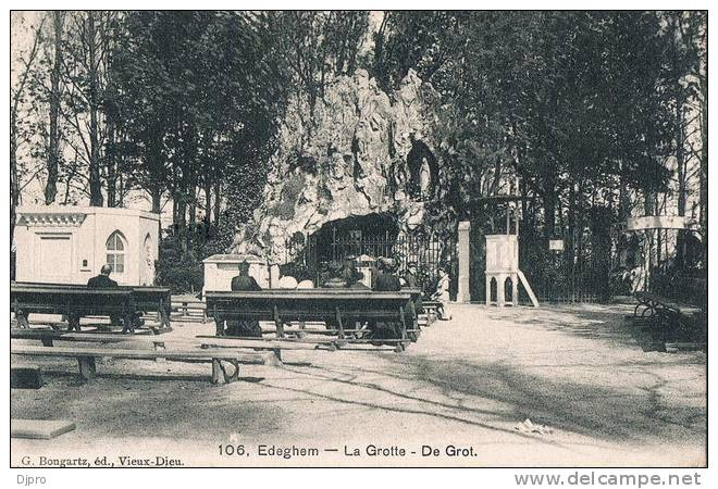 Edeghem  La Grotte  De Grot  106    1908 - Aartselaar