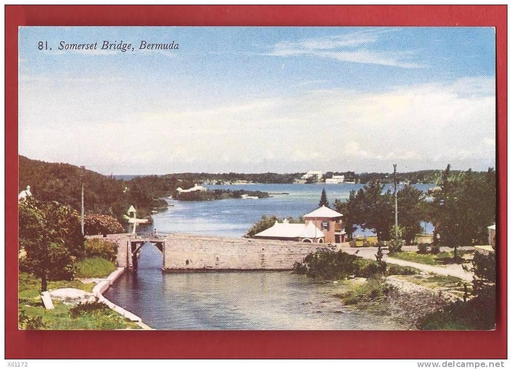 P1056 Bermuda Bermudes Somers Islands, Somerset Bridge . Non Circulé. Gorham - Bermudes