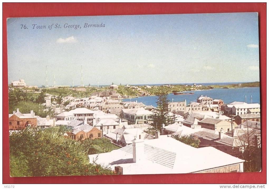 P1057 Bermuda Bermudes Somers Islands, Town Of St. George . Non Circulé. Gorham - Bermudes