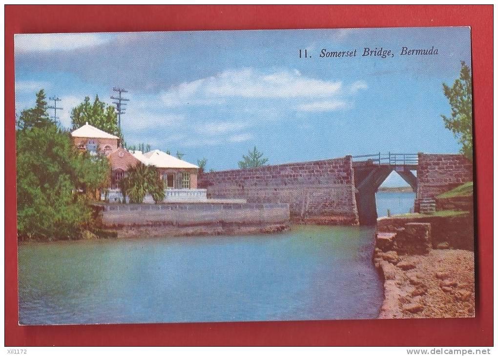 P1060 Bermuda Bermudes Somers Islands, Somerset Bridge . Non Circulé. Gorham - Bermudes