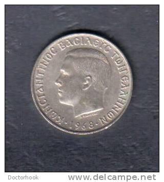 GREECE    10 DRACHMAS  1968  (KM # 96) - Griechenland