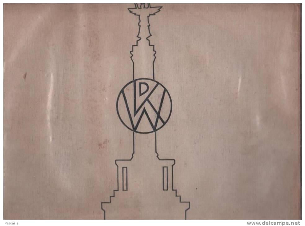 ALBUM VON BERLIN - OHNE DATUM - PARNASSUS VERLAG BERLIN - 34 X 27 Cm - 60 SEITEN - Berlin