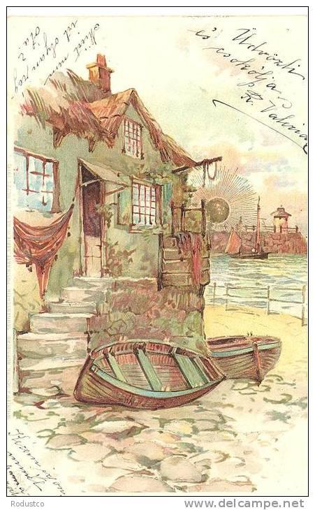Sonnenschein Postkarte Serie VIII   Winkler & Schorn - Bellas Artes