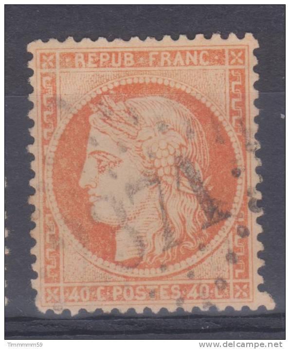 Lot N°17852  Variété/n°38, Oblit GC 2371 MIREPOIX(8), Ind 4, Nuage Face Au Visage - 1870 Siege Of Paris