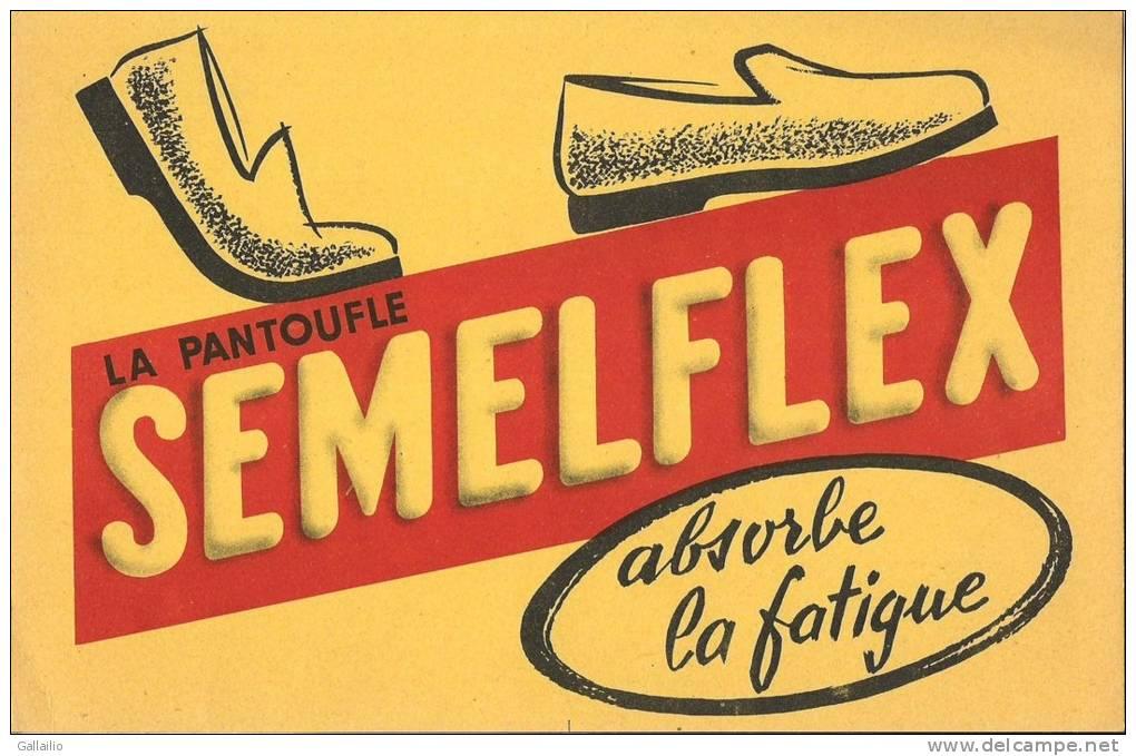 BUVARD  LA PANTOUFLE SEMELFLEX  ABSORBE LA FATIGUE - Chaussures