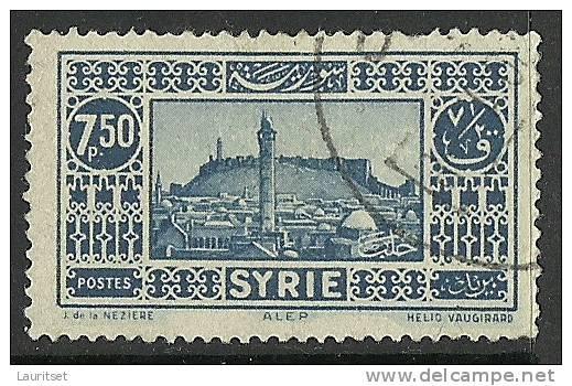 FRANKREICH France In Syrie 1930 Michel 350 Alep O - Syrien (1919-1945)