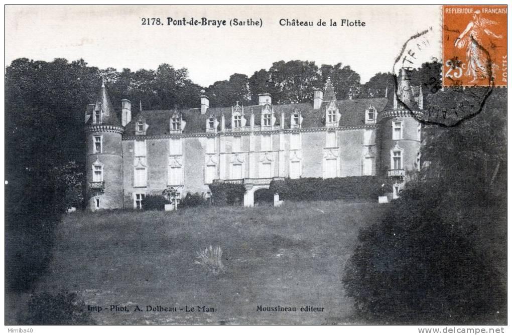 PONT-de-BRAYE - Château De La Flotte (2178) - France