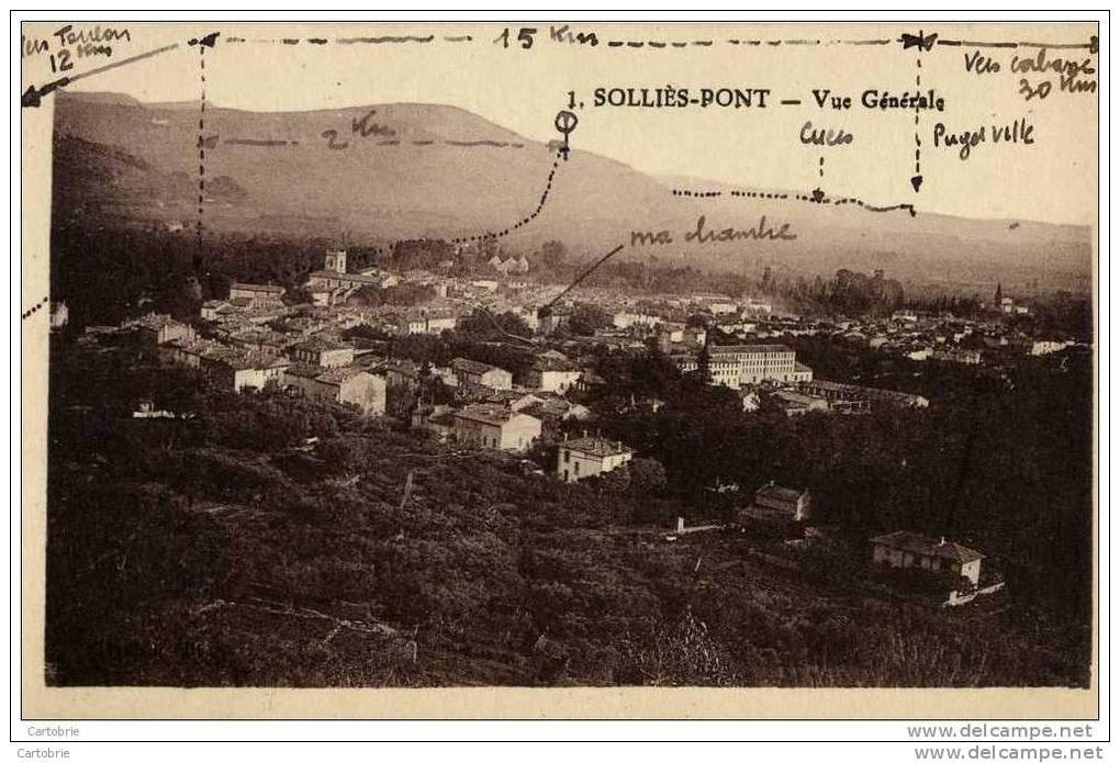 83-SOLLIES PONT-Vue Générale- - Sollies Pont