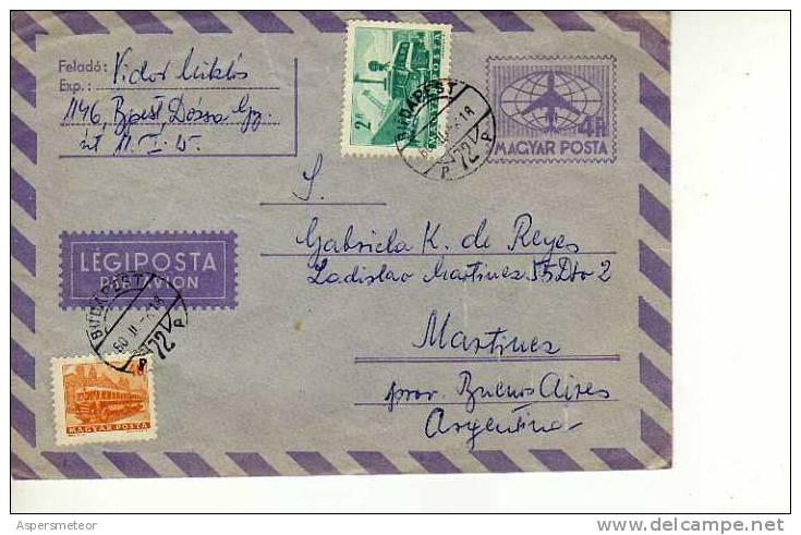 HUNGRIA  MAGYAR POSTA  SOBRE CIRCULADO OHL - Airmail
