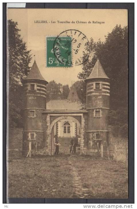 62 - Lillers - Les Tourelles Du Chateau De Relingue - Lillers