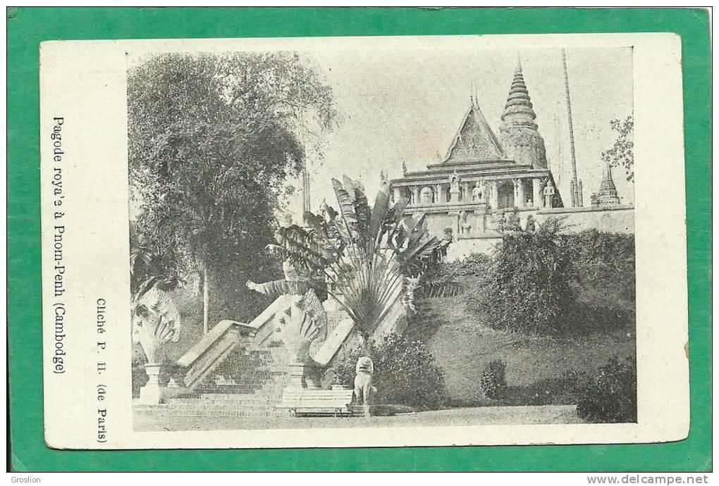 PAGODE ROYALE A PNOM-PENH - Cambodge