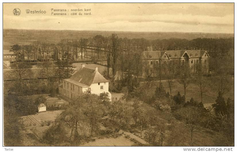 Westerloo - Panorama : Noorden Kant -192?  ( Verso Zien ) - Westerlo
