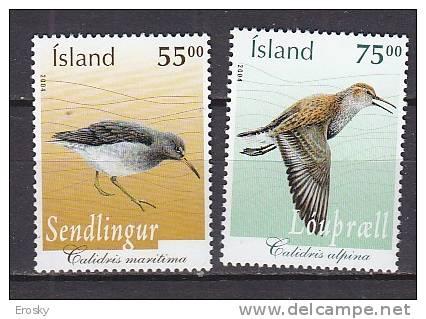 PGL AA0416 - ISLANDE Yv N°1006/07 ** ANIMAUX ANIMALS - Islanda