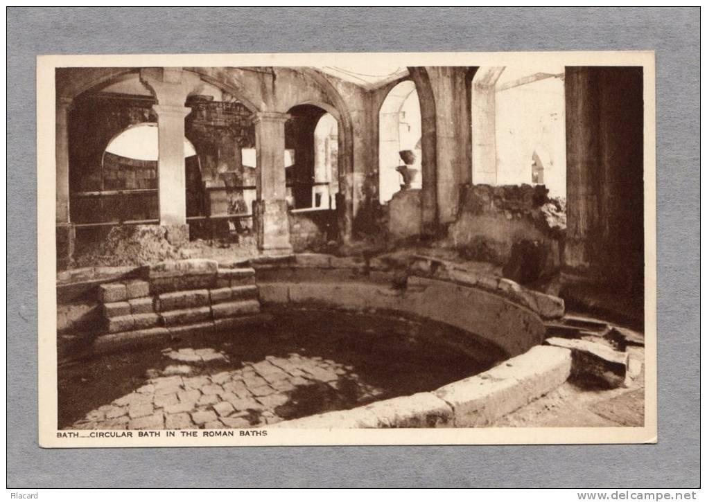 29884   Regno  Unito,  Bath,  Circular  Bath  In  The  Roman  Baths,  NV - Bath