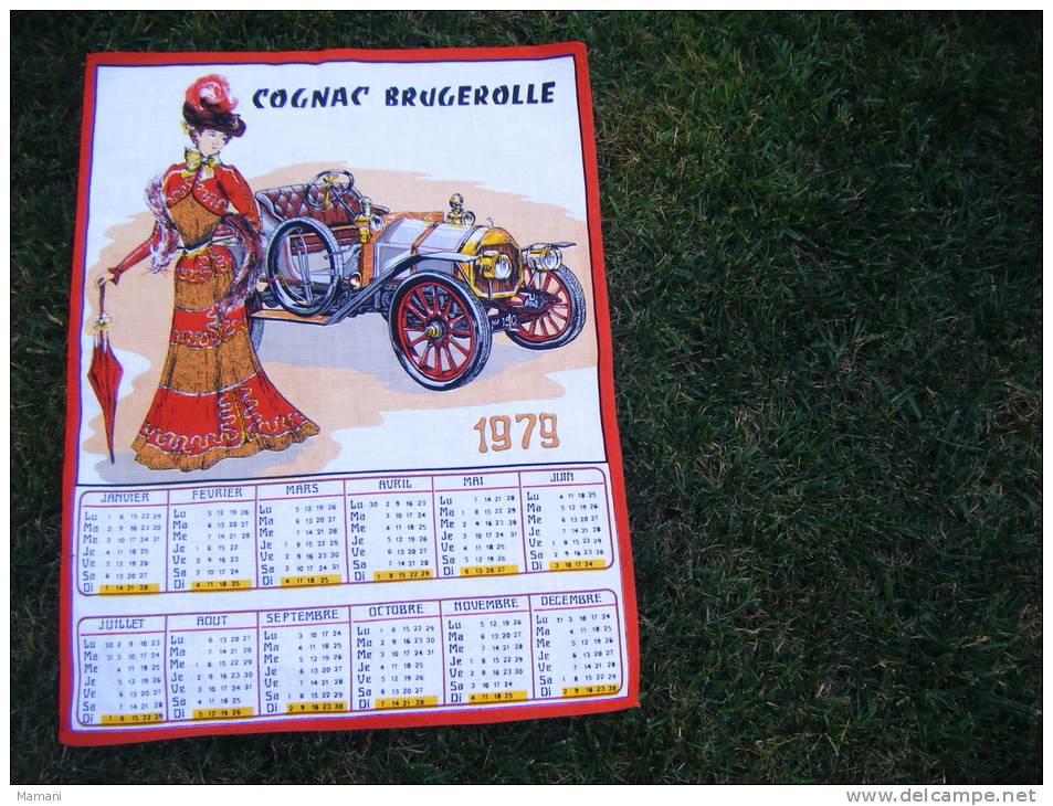 Torchon Calendrier -1979-tacot-cognac Brugerolle - Calendriers