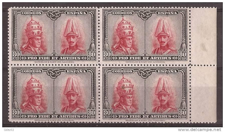ES412-A892-CG.Spain.Alfonso  Xlll Y Pio Xl.CATACUMBAS  DE SAN DAMASO EN ROMA.1928 (Ed 412**) Nuevo, Sin Charnela - Ungebraucht