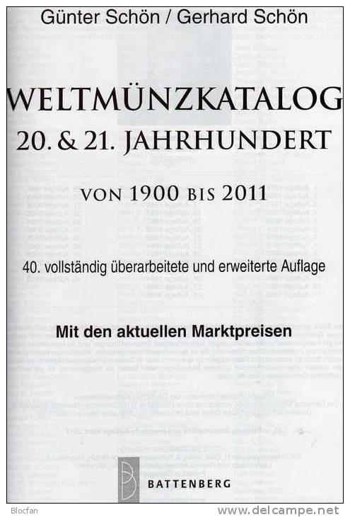 Weltmünz-Katalog 2012 Neu 50€ Münzen 20/21.Jahrhundert A-Z Schön Coins Of The World Europa Amerika Afrika Asien Oceanien - Other